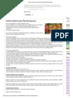 Mujer y Evolución_ Dieta Disociada Vegetariana