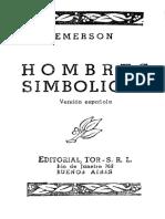 Emerson Ralph Waldo - Hombres Simbolicos