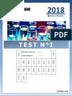 Test N° I