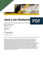 Jens Lutz Hestermann Erfahrungen