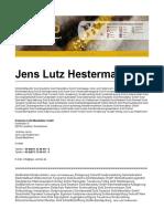 Jens Lutz Hestermann Gold Erfahrungen