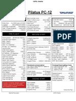 Carenado Pilatus PC-12 Checklist
