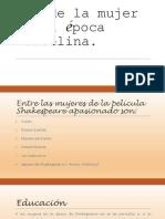 Rol de la mujer en la época Isabelina.pptx
