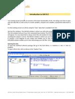 Brief Introduction to SAS 9.2