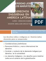 Derechos Indios e Indigenas
