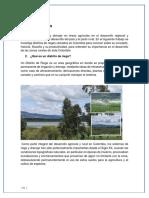 Distritos de Riego en Colombia