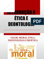 Introdução à ética e deontologia
