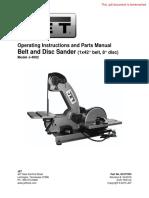 Jet Belt & Disc Sanders