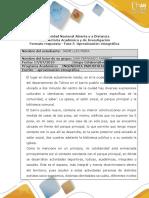 Formato Respuesta - Fase 5 -Aproximación Etnográfica