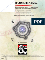 D&D5e - Tome of Obscure Arcana