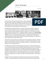 Historia de La Radio en Venezuela (2017)