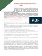 Organización Multidivisional Descentralizada de Alfred P