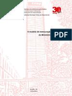 Modelo de Mensuração de Custos Ministério da Fazenda