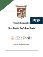Estructura Modelo Pedagógico