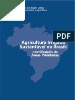 Agricultura irrigada sustentável no Brasil - estudo FAO