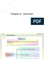 Chapter 6 - Nutrition