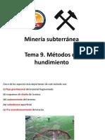 Minería de Hundimiento
