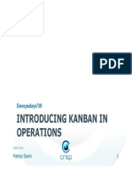 Introducing Kanban in Operations