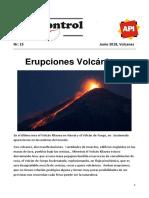 Nr 15 Junio 2018 Volcanes