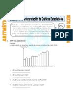 Elaboración e Interpretación de Gráficos Estadísticos Para Sexto de Primaria