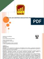 Ley Iiee Privadas (1)