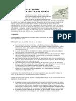 7- Un Estudio de La Ciudad a Traves de La Construcción de Planos
