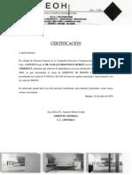 Certificación No Abrir