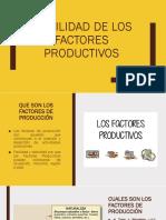 Movilidad de Los Factores Productivos