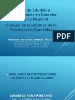Certificacion y Legalizacion de firmas ppt