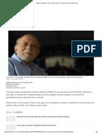Alberto Goldman_ Morre Aos 81 Anos o Ex-governador de São Paulo