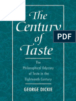 George Dickie-The Century of Taste_ The Philosophical Odyssey of Taste in the Eighteenth Century (1996) (2).pdf