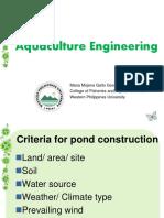 Aquaculture Engineering PPTX.