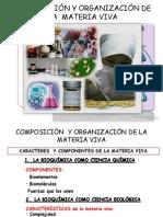 Composicion y Organizacion de La Materia Viva-SALJ