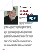Entrevista a Niles Eldredge (Ciencia Hoy)