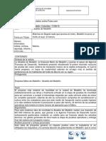 Plantilla Analisis de Noticia - Tranvia de Medellin.