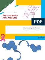 Cancer de Mama Para PACIENTES 2019