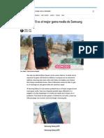 » Samsung A70 El Mejor Gama Media Samsung en Años