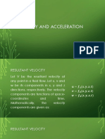 Lec2.Velocity and Acceleration by Egnr. Wendhel Q.L