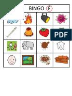 Bingo fonema f