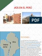 1.2 Sismos en El Perú
