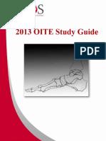 OITE Review 2013