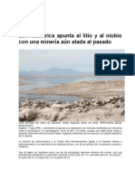 Latinoamérica apunta al litio y al niobio con una minería aún atada al pasado.docx