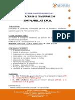 Almacenes Excel