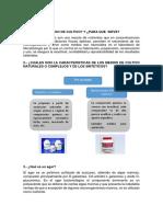 CUESTONARIO de Informe N 2 de Microbiologia