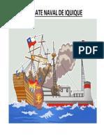 Combate Naval Ilustracion