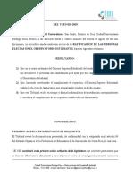 RES. TEEU-018-2019 Ratificación Observatorio Estudiantil