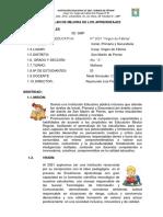 Plan de Mejora Aula - 2019 Inicial Primaria - Modelo 2019