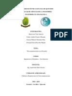 Deber 1_Guzmàn, Càceres, Escobar y Vera_Deber 1_Investigación de las Telecomunicaciones en el Ecuador.docx