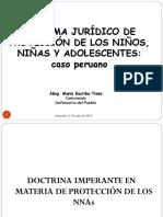 TALLER SISTEMA DE PROTECCION JURIDICO DE LOS NNAs - MARIO.ppt