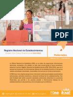 Bolet Preliminar (RNE) Pedernales